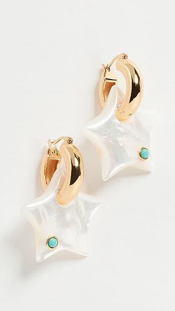 Lizzie Fortunato Jumelle 星星耳环