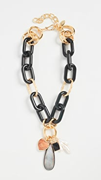 Lizzie Fortunato Forest Linked Necklace