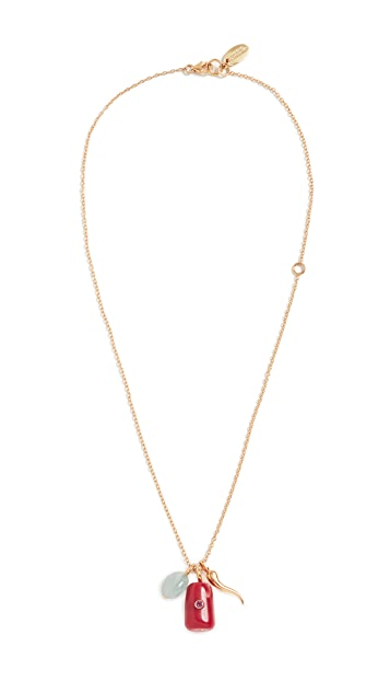 Lizzie Fortunato Coral Oasis Necklace