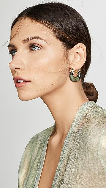 Lizzie Fortunato 有机圈式耳环