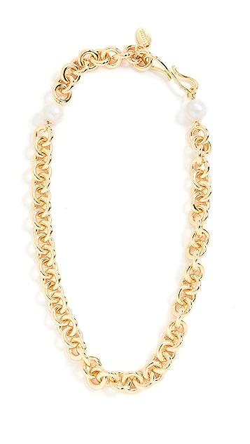 Lizzie Fortunato Halo Chain Necklace
