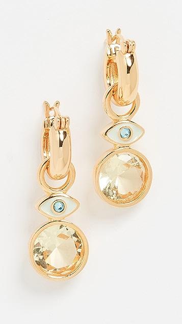 Lizzie Fortunato Twinkle Eye Earrings