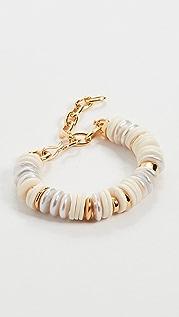 Lizzie Fortunato Candy Bracelet in Pearl