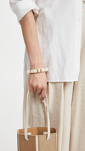 Lizzie Fortunato 珍珠糖果色手链
