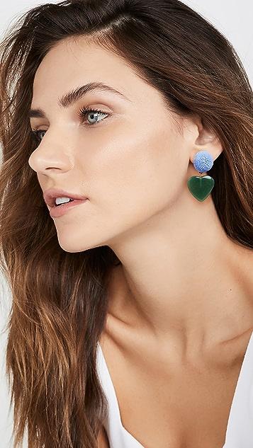 Lizzie Fortunato Blue Crush Earrings