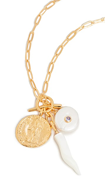 Lizzie Fortunato Eternity Lariat Necklace