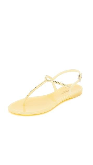 L.K. Bennett Lola Thong Jelly Sandals