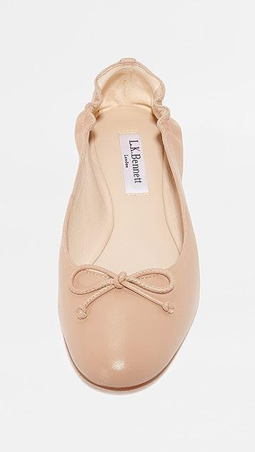 L.K. Bennett Thea Ballet Flats