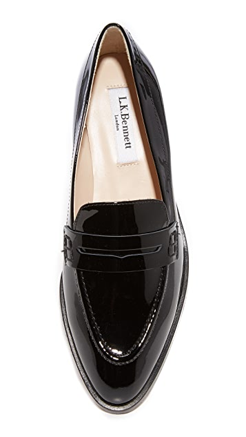 L.K. Bennett Iona Penny Loafers