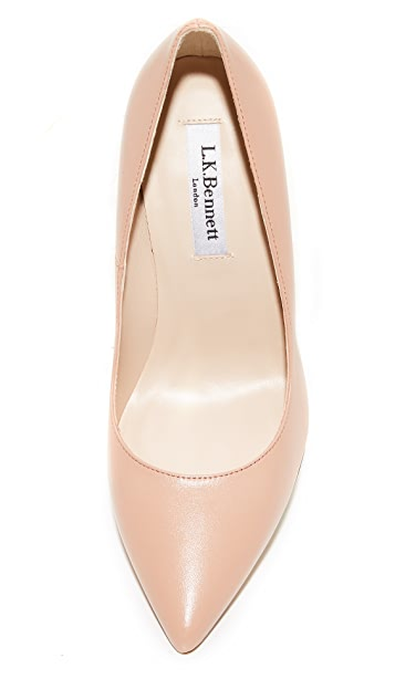L.K. Bennett Fern Pumps