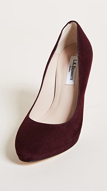 L.K. Bennett New Sledge Pumps