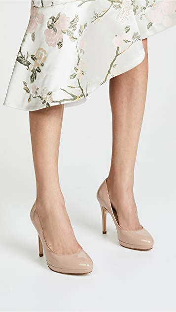 L.K. Bennett Sledge Pumps