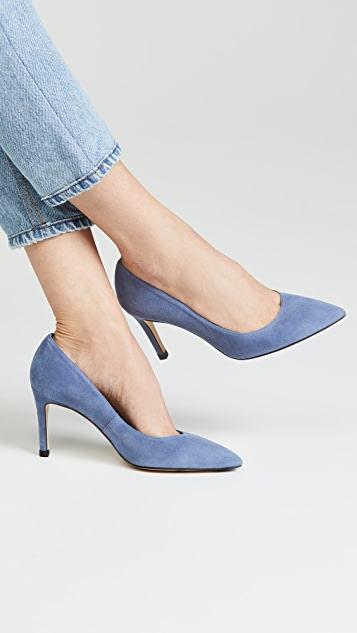 L.K. Bennett Floret Point Toe Court Pumps