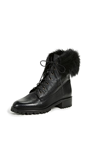 L.K. Bennett Delli Combat Boots
