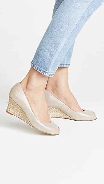 L.K. Bennett Edee Wedge Pumps
