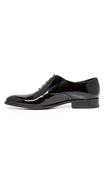 Loake Lifestyle Patent Leather Oxfords