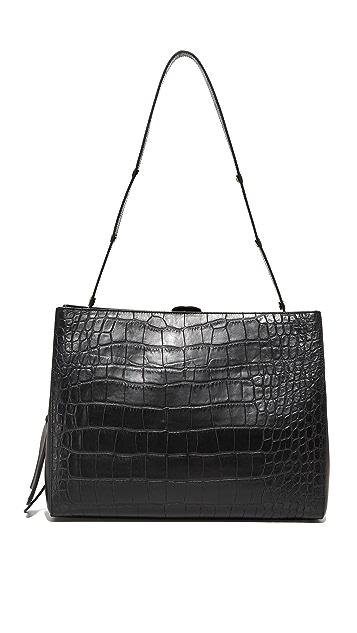 Little Liffner Croc Shopper Bag