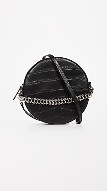 Little Liffner Tambourine Cross Body Bag - Black
