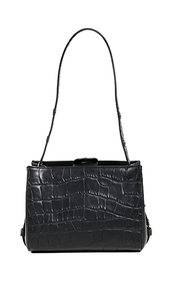 Little Liffner Croc Mini Shopper Tote