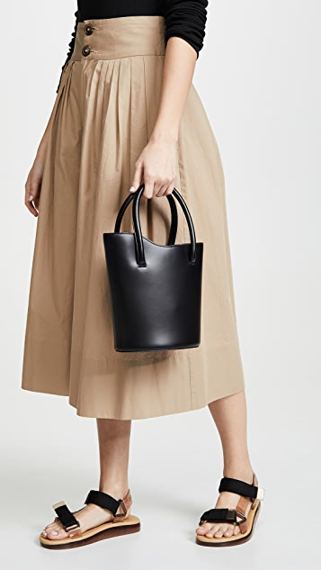 Little Liffner Миниатюрная объемная сумка с короткими ручками Tulip