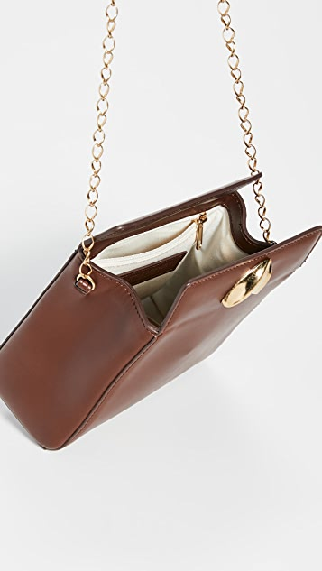 Little Liffner Миниатюрная сумка «Mademoiselle» с цепочками