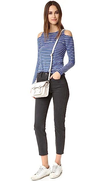 LNA Striped Ashley Jane Long Sleeve Top