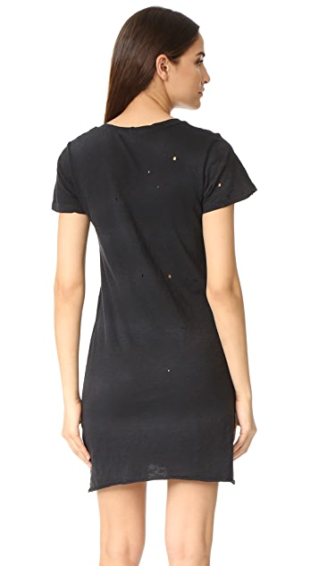 LNA Destroyed Tee Dress