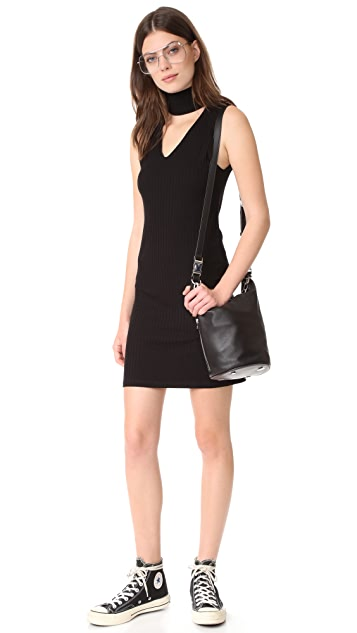 LNA Sleeveless Detached Dress