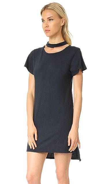 LNA Choker Tee Dress
