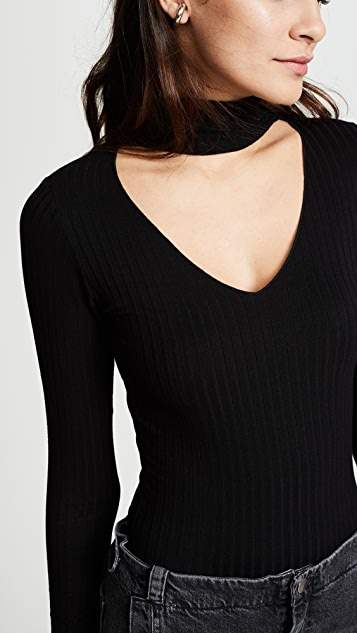 LNA Turtleneck Bodysuit