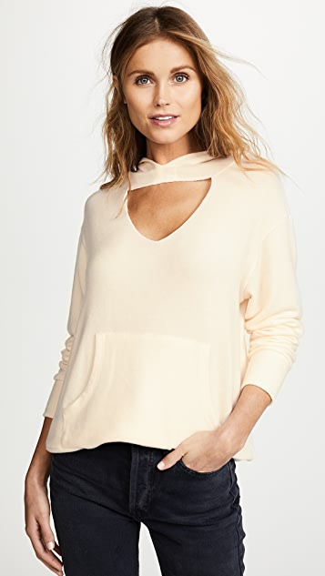 LNA Brushed Cutout Hoodie