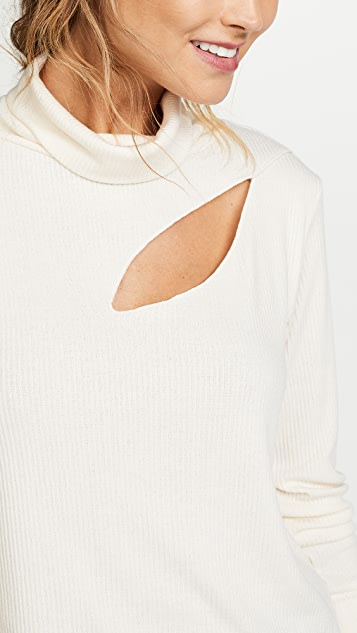 LNA Sims Turtleneck Top