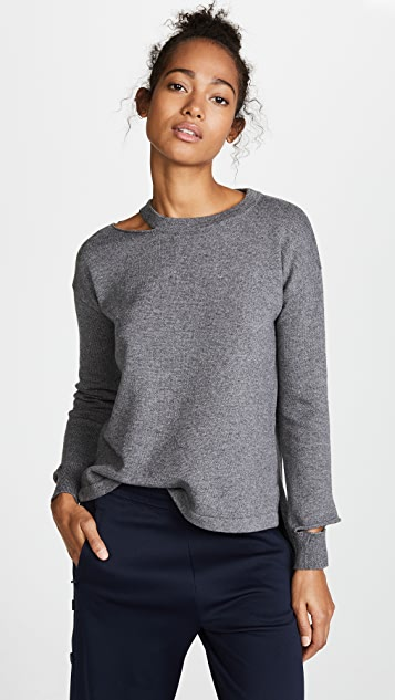 LNA Perry Cutout Sweater