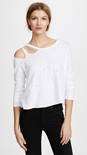 LNA Flume Distressed Tee