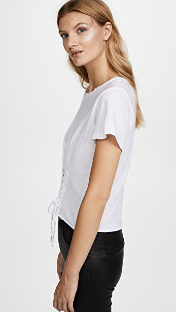 LNA Laced Tee