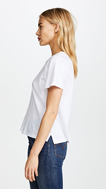 LNA Sun Bask Embroidered Tee