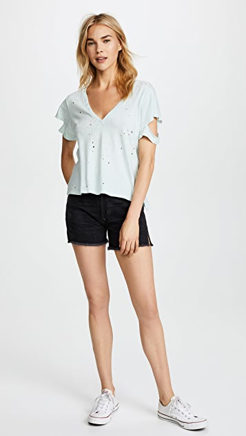 LNA Distressed Sylvan Tee