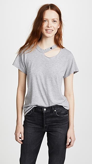 LNA Heartache Tee - Heather Grey