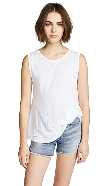 LNA Pintucked Tank