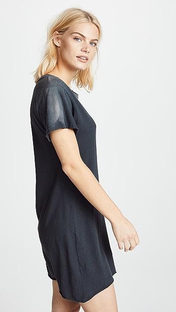LNA Grunge Tee Dress