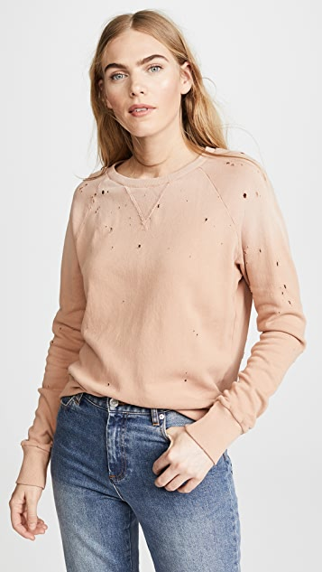 LNA Variation Distressed Sweatshirt