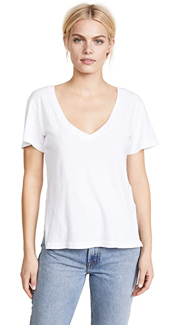 LNA Essential Cotton Reese V Tee