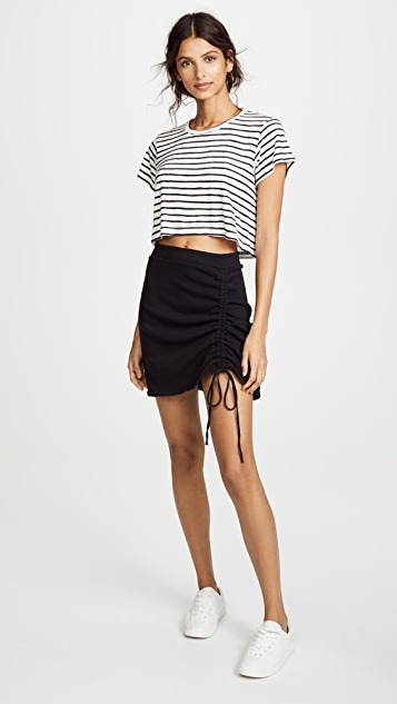 LNA Cinched Skirt