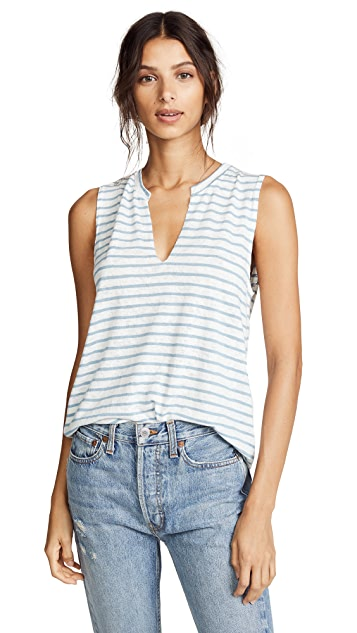 LNA Lago Striped Tank