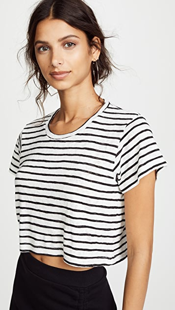 fb4c73276c LNA Striped Cropped Boxy Tee | SHOPBOP