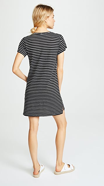 LNA Striped Dress