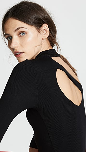 LNA Something About You Ribbed Top