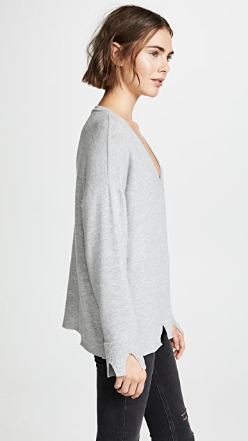 LNA Brushed Bitten Sweater