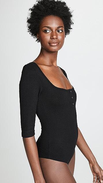 LNA Henley Bodysuit