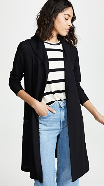 LNA Brushed Washed Out Cardigan